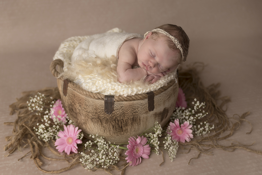 voorbeelden newborn foto's