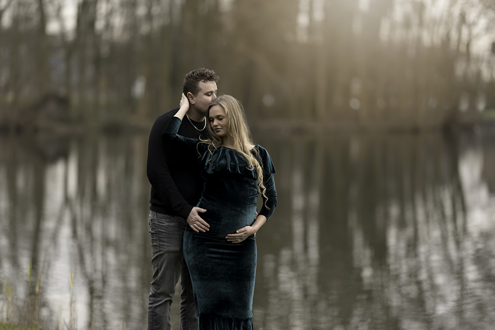 janneke van den berg fotografie zwangerschapsfotoshoot