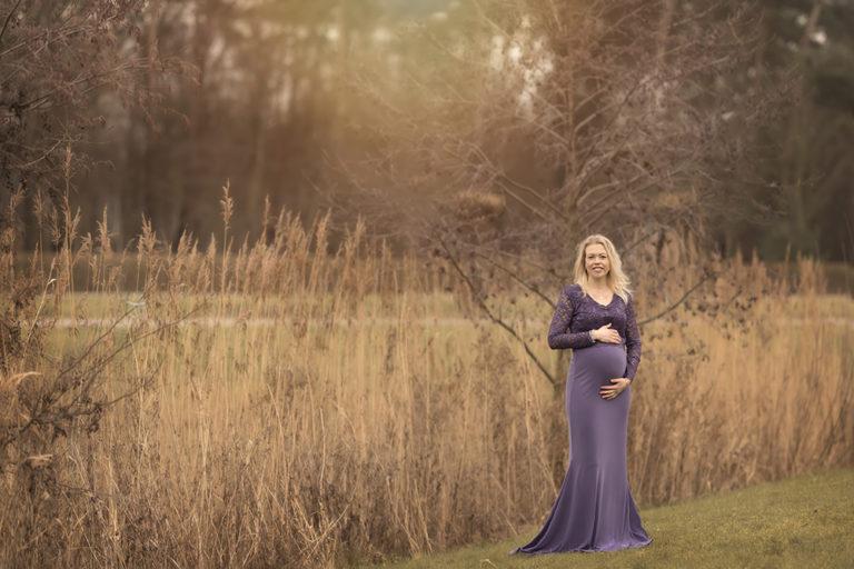 voorbeelden zwangerschapsfoto's buiten