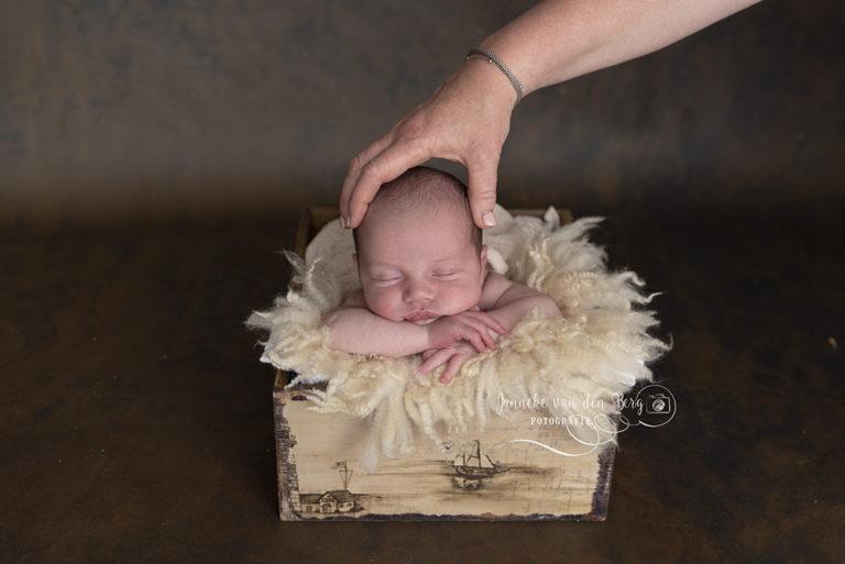 newborn foto's bewerken in photoshop