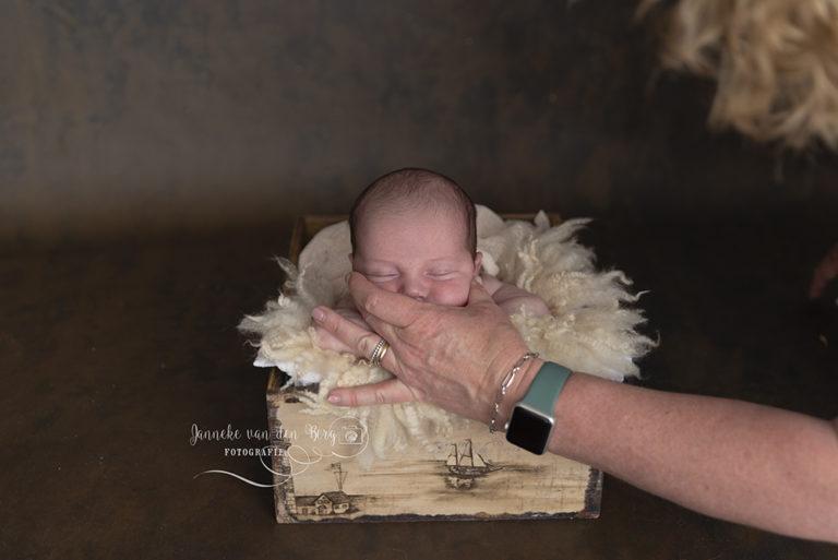 newborn foto's bewerken i